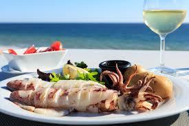 Algarve, sun and seafood.