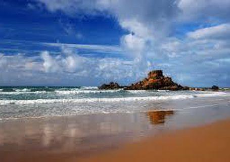 Algarve beaches.